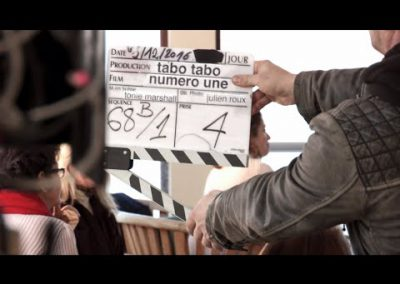 Making of du film « Numero Une »