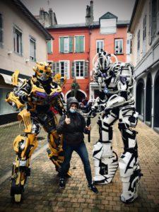tournage robots