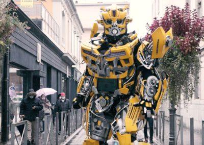 Les Cyborgs envahissent le centre-ville!