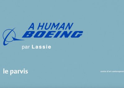PERFORMANCE #2 – LASSIE – A HUMAN BOEING