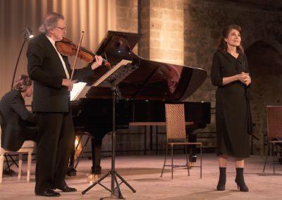 Fanny Ardant et Gérard Caussé – Bach et Rilke : textes, poèmes, musique – L'Offrande musicale