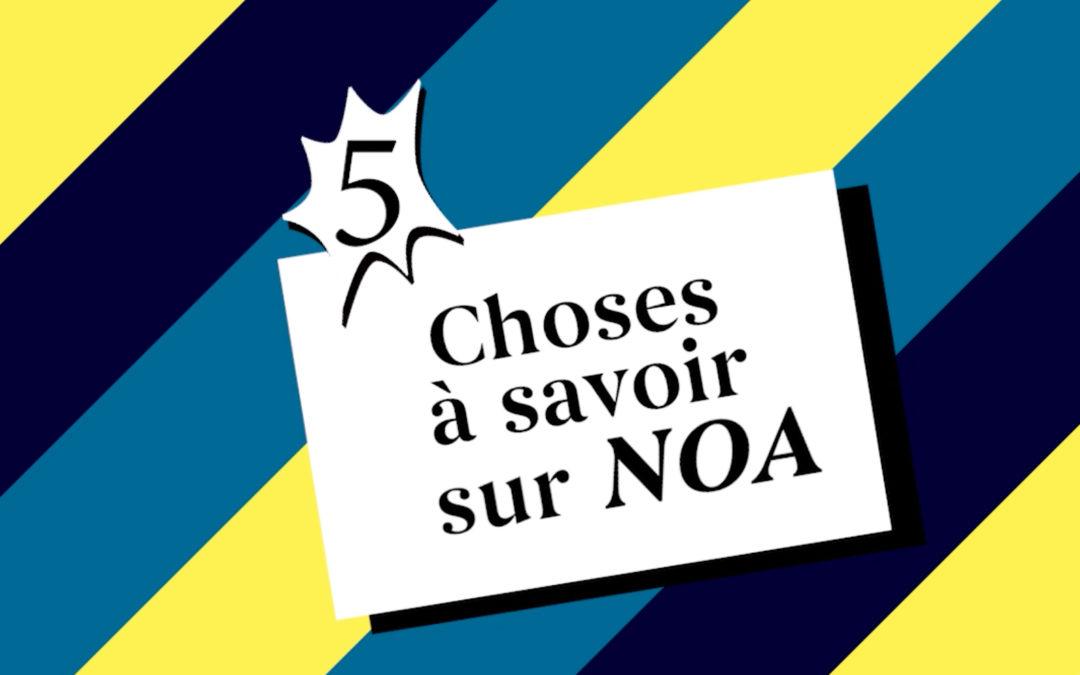 Interview off – 5 choses à savoir sur NOA – L'Offrande musicale, festival hors norme